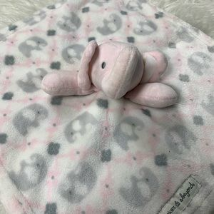 Blankets & Beyond Elephant Blanket Lovey